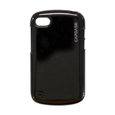 Capdase BlackBerry Q10 Polimor Case Jacket - Hitam
