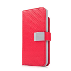 Capdase Flip Cover for Ipod Touch 5 - Sider Polka - Merah