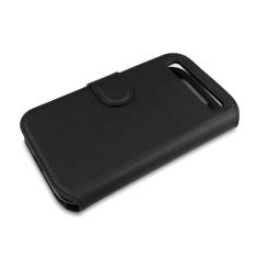 Capdase Folder Case Bb Classic Sider Eternity Flip Case Leather - Hitam
