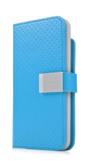 Capdase Folder Case for Ipod Touch 5 - Sider Polka - Biru