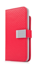 Capdase Folder Case for Ipod Touch 5 - Sider Polka - Merah