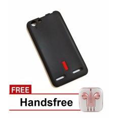 Capdase Lenovo Vibe K5 Plus Softcase – Hitam + Free Handsfree