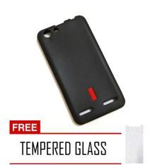 Capdase Lenovo Vibe K5 Plus Softcase – Hitam + Free Tempered Glass
