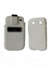 Capdase Smart Pocket Value Set Callid Bold & Xpose for Blackberry 9790 - Putih