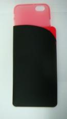 Toko Capdase Soft Case Iphone 6 Black Tinted Red Casing Termurah