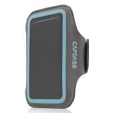 Beli Capdase Universal Sports Armband Wristband Case Zonic 126A Abu Abu Biru Baru