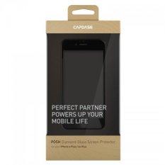 Capdase Untuk iPhone 6s Plus - 6 Plus 10H Diamond-class Tempered Glass Posh Diamond-Glass - Clear Black
