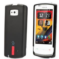 Capdase Xpose Soft Jacket for Nokia Lumia 700 - Hitam Free Anti Gores