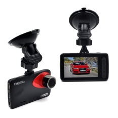 Car Black Box Traveling Driving Data DVR Recorder Camcorder NightVision Vehicle Camera With 170 Degree Angle View Black  - intl