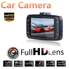 Mobil Kamera + Car DVR Mobil Mengemudi Perekam Video Camcorder DashCamFHD 1080 P Night Vision-Internasional
