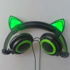 Mobil Telinga 3 5Mm Lipat Glowing Light Up Headband Over Ear Stereo Headphone Intl Diskon Akhir Tahun
