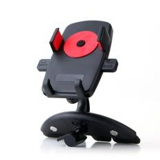 Spesifikasi Car Holder Universal Imount Mobil Dengan Charger Usb 1 Port Jhd Ch02Hd68 Black Red Murah Berkualitas
