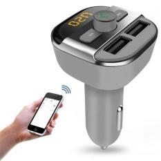Toko Mobil Kit Mp3 Player Bluetooth Fm Transmitter Hansfree Lcd Tf Dual Usb Charger Intl Terdekat