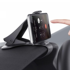 Beli Car Mount Hud Simulating Design Car Phone Holder Universal Cradle Adjustable Dashboard Phone Mount For Safe Driving For Iphone 7 7 Plus 6S 6 5S 5C Samsung Galaxy S7 S6 Other Smartphone Intl Online