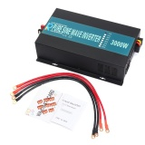 Jual Car Power Inverter Dc 12V To Ac 220V Pure Sine Wave Converter Solar Led Display 3000W Intl Not Specified Original