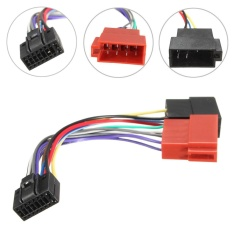 Toko Car Stereo Radio Iso Wiring Harness Connector Cable Wire Loom 16 Pin For Kenwood Intl Terdekat