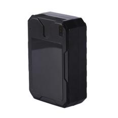 Mobil Kendaraan Portable Global GSM GPS Pelacak dengan Magnet Kuat Locator Real Time Pelacakan Perangkat Tahan Air Warna: Hitam Spesifikasi: Locator-Intl