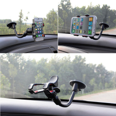 Diskon Car Windshield Suction Cup Car Holder Gps 360 ° Rotating Mobile Phone Holder Intl