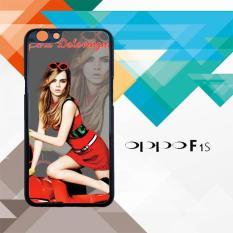 cara delevingne L0493 Oppo F1S Custom Case Cover