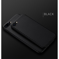 TPU Carbon Case Black Only for Oppo F5 Softcase TPU - Hitam