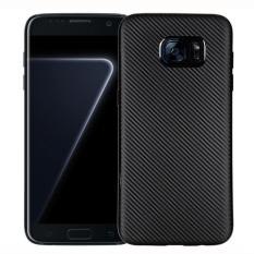 Promo Carbon Case Samsung A320 A3 2017 Softcase Tpu Hitam Murah