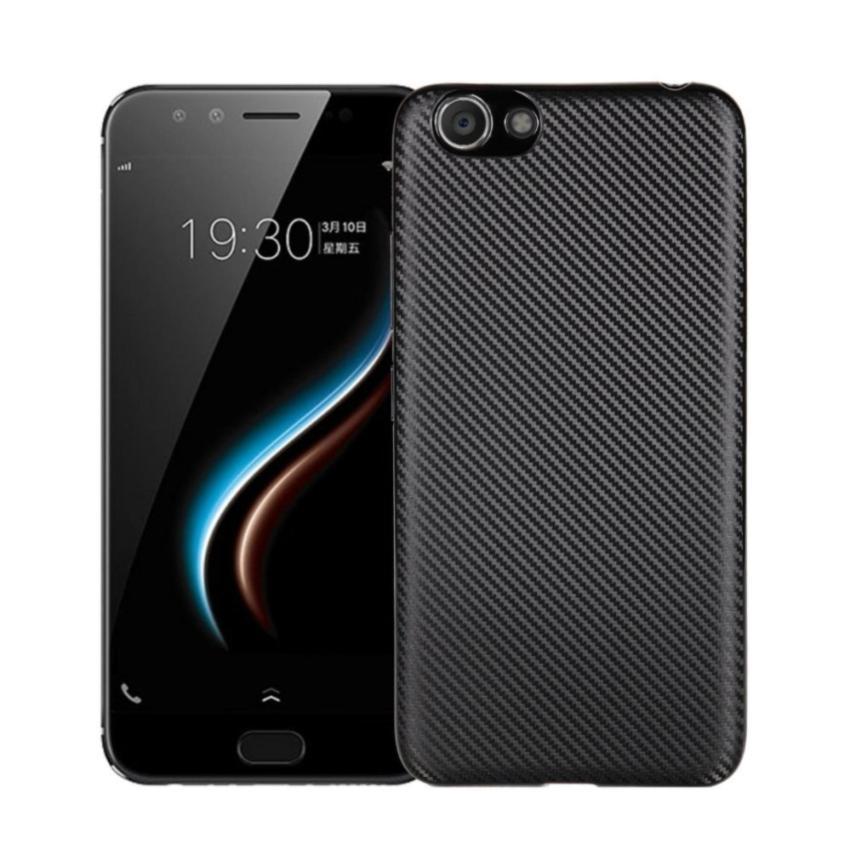 Slim Carbon Case For Xiaomi Redmi 4 Softcase TPU - Black