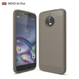 Spesifikasi Karbon Kasar Armor Cover Case Untuk Motorola Moto E4 Plus Paling Bagus