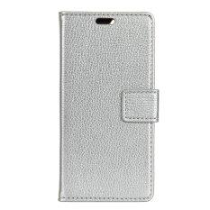 Pemegang Kartu Dompet Kulit PU Case Cover untuk HTC 10 EVO/HTC Bolt-Intl