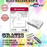 Harga Card Reader Rdf8 All In One Usb 3 Transcend Putih Gratis Otg Mini Usb Pop Socket Kabel Charger Micro Asli