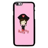 Kartun Cute Pattern Phone Case Untuk Iphone 6 Hitam Di Tiongkok