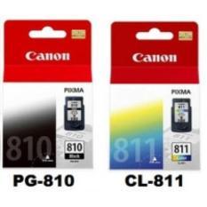 CARTRIDGE CANON PG 810 BLACK + 811 COLOUR ORI