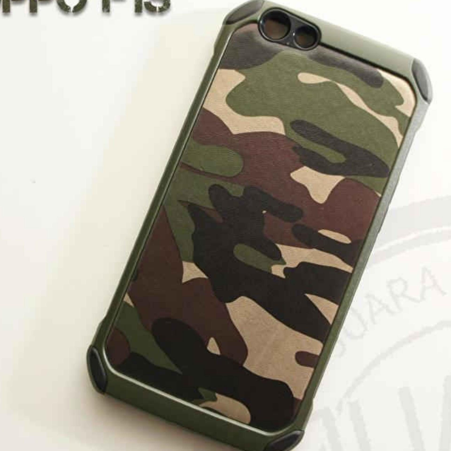 Beli Case Military Army High Protection For Oppo A59 Oppo F1S Army Hijau Online Terpercaya
