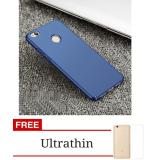 Penawaran Istimewa Case 360 Full Protection Matte Plastic Slim Back Cover For Xiaomi Redmi 4X Blue Free Ultrathin Terbaru