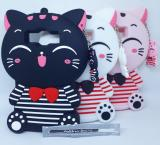 Jual Case 4D Karakter Cat Kucing Samsung J1 Ace Softcase Soft 3D Kartun Askhev