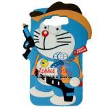 Diskon Case 4D Karakter Doraemon Cowboy Samsung J2 Prime Soft 3D Boneka Akhir Tahun