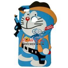 Harga Case 4D Karakter Doraemon Cowboy Xiaomi Redmi 4X Soft 3D Boneka Online