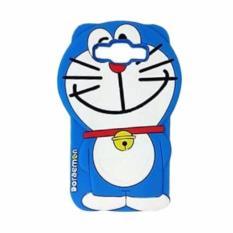 Case 4D karakter Doraemon Dorayaki Samsung galaxi grand prime, j 2 prime ,j 5, j 3 , Doraemon softcase soft 3D kartun