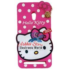 Diskon Case 4D Karakter Hello Kitty Polkadot Asus Zenfone 5 Soft 3D Boneka Case Boneka 3D Jawa Barat