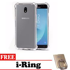 Case Anti Crack (anti bentur) For Samsung Galaxy J7 Pro 2017 / J7 2017-Clear Free I-ring