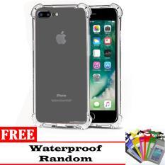 Case Anti Shock / Anti Crack Elegant Softcase Anti Benturan for Apple iPhone 7 + (plus) / 7s + (plus) -  Clear FREE Waterproof Random