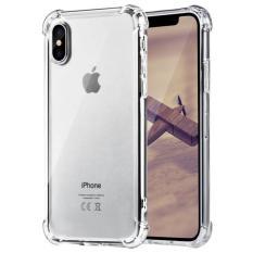 Case Anti Shock / Anti Crack Elegant Softcase Anti Benturan for Apple iPhone X -  Clear