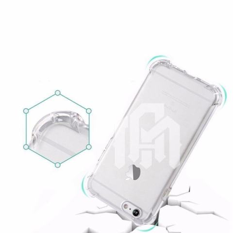 Case Anti Shock / Anti Crack Elegant Softcase for Apple Iphone 6 / 6S - Clear