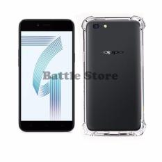 Case Anti Shock / Anti Crack Elegant Softcase for For Oppo A71 - White Clear