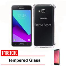 Case Anti Shock / Anti Crack Elegant Softcase for For Samsung Galaxy J2 Prime G532  + Free Tempered Glass