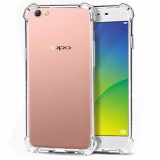 Case Anti Shock / Anti Crack Elegant Softcase  for Oppo F1s (A59) - White Clear