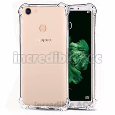 Case Anti Shock / Anti Crack Elegant Softcase  for Oppo F5 - White Clear