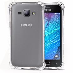 Case Anti Shock / Anti Crack Elegant Softcase  for Samsung Galaxy J1 2015 (J100) - White Clear