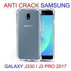 Case Anti Shock / Anti Crack Elegant Softcase for Samsung Galaxy J3 2017 (J330) - White Clear