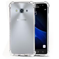 Case Anti Shock / Anti Crack Elegant Softcase  for Samsung Galaxy J3 Pro - White Clear