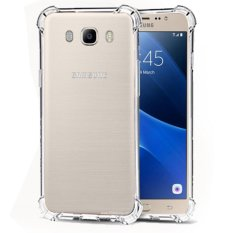 Case Anti Shock / Anti Crack Elegant Softcase  for Samsung Galaxy J7 2016 (J710) - White Clear